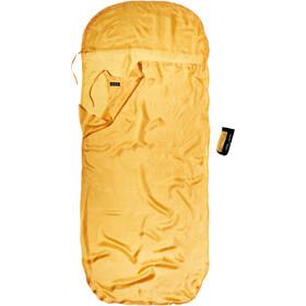 Cocoon KidSack Sacco lenzuolo Seta Bambino, giallo